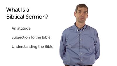 A Biblical Sermon Begins with Attitude