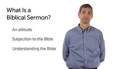 A Biblical Sermon Begins with Attitude