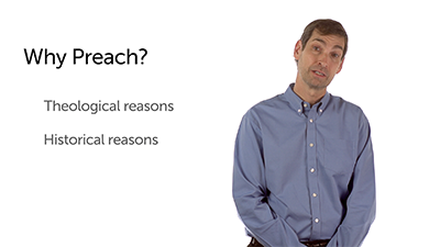 Personal Reasons to Preach