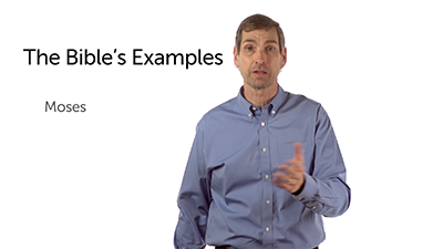The Examples in Scripture and a Command