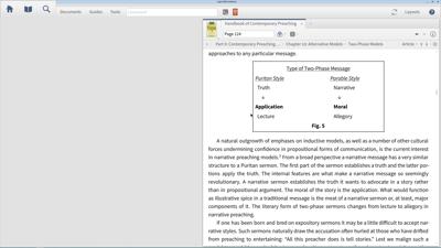 Using the Handbook of Contemporary Preaching to Improve Sermon Style