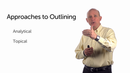 Shape Your Presentation: Approaches to Outlining