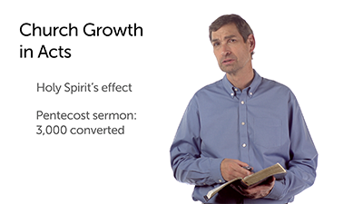 The Explosive Growth of the Early Church