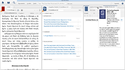 Creating a Customized Layout for Sermon Preparation