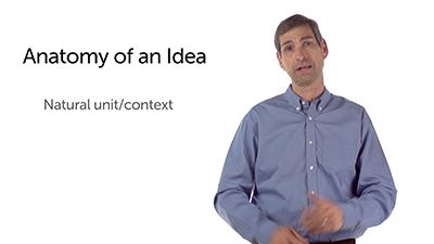 The Anatomy of an Idea