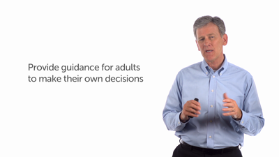 Providing Sufficient Guidance for Making Decisions