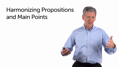 Propositions and Main Points: Harmonizing Them