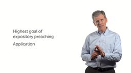 The Highest Goal of Preaching