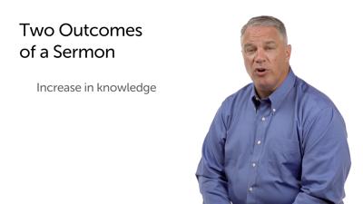The Outcomes of a Sermon