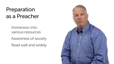 The Preacher's Authority and Resources