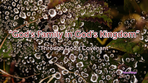January 17, 2021-God's Family in God's Kingdom (3)/