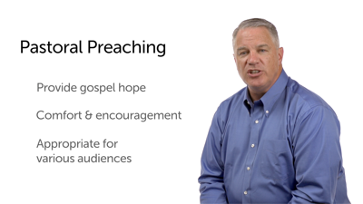 Doctrinal, Narrative, and Pastoral Preaching
