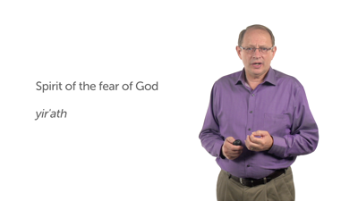 A Messianic Model of Counseling: The Spirit of the Fear of God