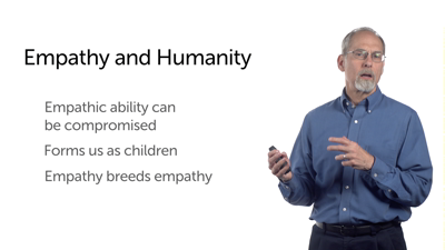 Empathy Fosters Healing of the Soul