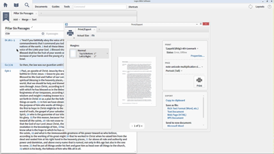 Collecting and Exporting Bible Verses with Passage Lists