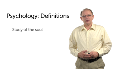 The Changing Definition of Psychology
