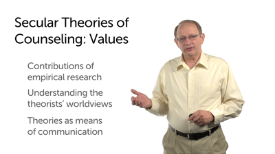 The Benefits and Limitations of Studying Secular Theories of Counseling