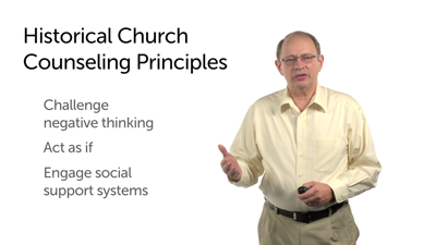 A Summary of Counseling Principles Found in the Historical Church