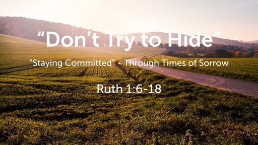 """""""Don't Try to Hide"""""""