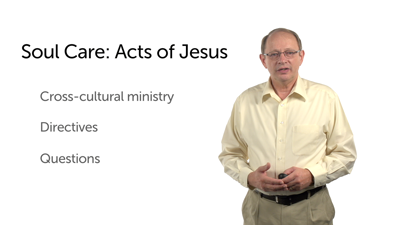 The Example of Jesus in the Care of Souls