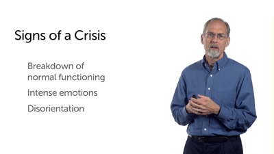 Counseling Approaches: Crisis Intervention