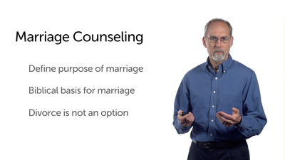 Counseling Approaches: Marriage