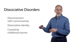 Dissociative, Sexual, and Gender Identity Disorders