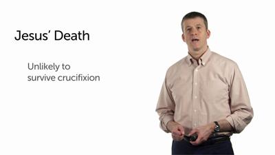 Jesus' Death by Crucifixion