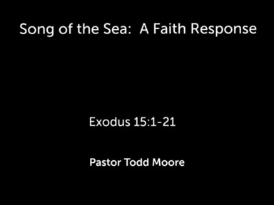 """Sunday 2nd Service """" Song of the Sea"""""""