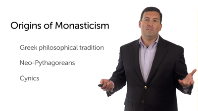 Antecedents of Early Christian Monasticism