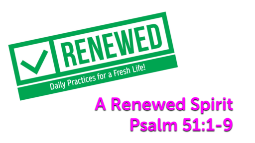 Renewed in 2021- Daily Practices for a Fresh Life