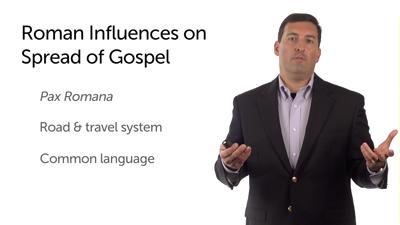 Aspects of Roman Culture Conducive to the Gospel