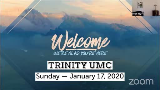 Sunday Worship—Jan. 17, 2020