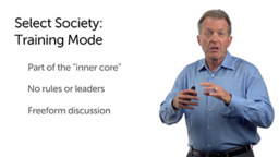 Select Society: The Training Mode