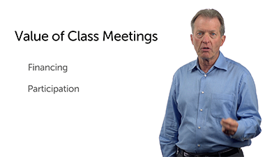 The Class Meeting: Its Value