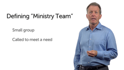 Definition and Elements of Ministry Teams