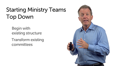 Starting a Ministry Team