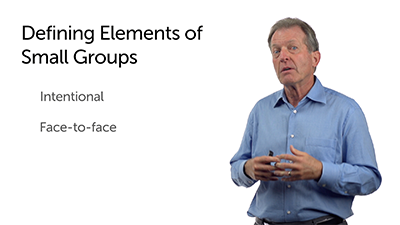 Definitional Elements of Small Groups