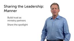 Sharing the Leadership