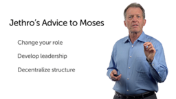 Jethro's Advice (1): Change Your Role