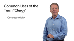 """Corruption of the Term """"Clergy"""""""