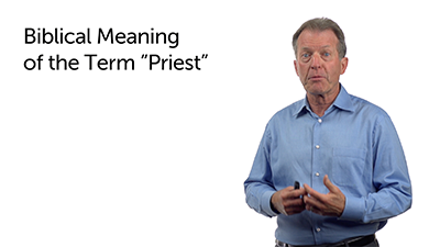 "Corruption of the Term ""Priest"""