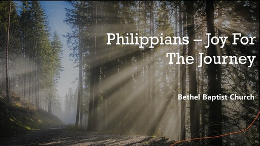 Philippians 1:18-26 - Dying and Rising