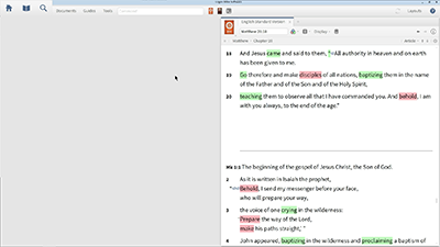Using Notes to Do Inductive Bible Study