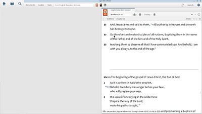 Analyzing the Biblical Text with the Text Comparison Tool and Visual Filters