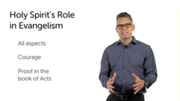 What Is the Role of the Holy Spirit?