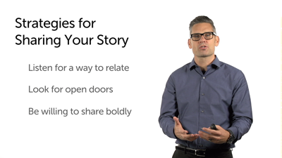 How to Share Your Story