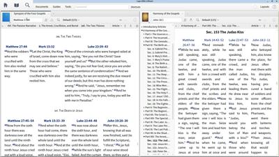 Using Gospel Harmonies to Compare Accounts of Jesus' Crucifixion