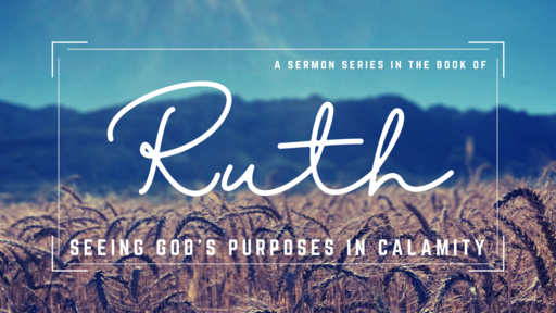 Ruth: Seeing God's Purposes in Calamity