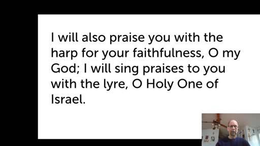 Mon.  Jan. 18, '21 Morning PPT Psalm 71